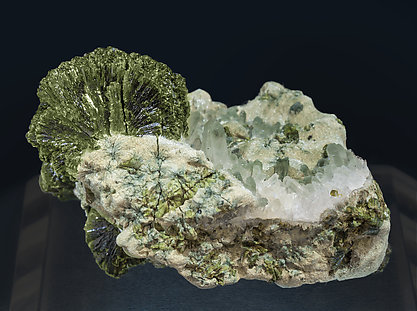 Epidote with Quartz.