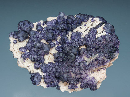 Fluorite with Microcline.