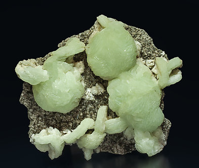 Prehnite with Augite.