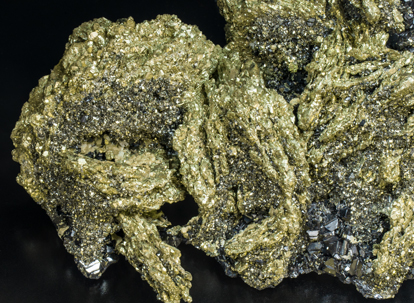 Pyrite after Pyrrhotite with Sphalerite.