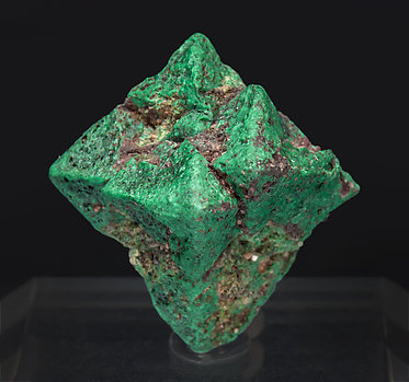 Malachite after Cuprite.