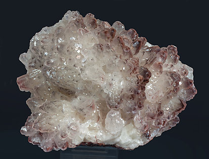 Calcite with Hematite inclusions.