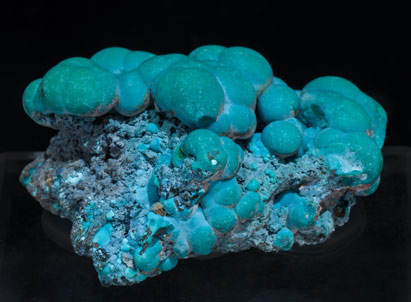 Chrysocolla. Rear