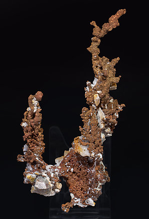 Copper with Quartz. Front