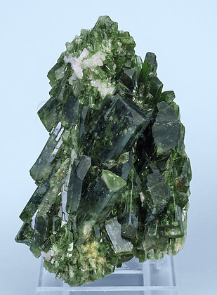 Diopside with Quartz. Side
