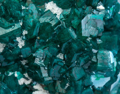 Dioptase with Shattuckite.