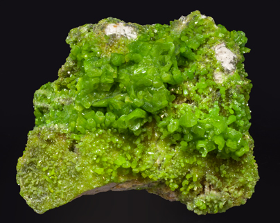 Pyromorphite with Baryte.
