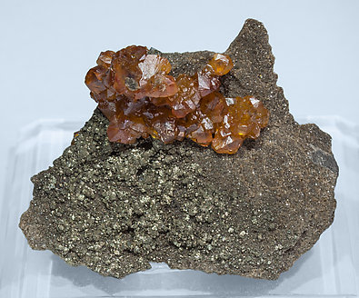 Sphalerite with Pyrite.