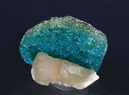 Laurentthomasite with Quartz. Front with light behind