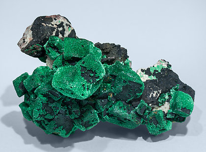 Malachite after Azurite. Top
