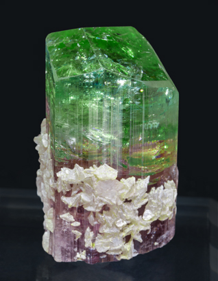 Elbaite with Lepidolite. Side