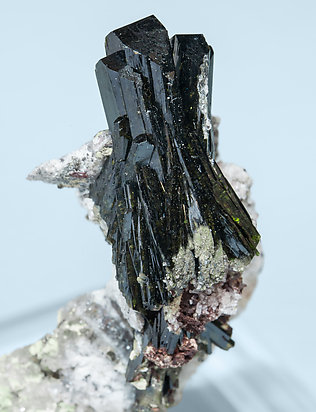 Olivenite with Quartz.