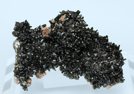 Olivenite with Quartz. Front