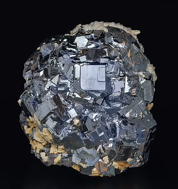 Galena with Calcite.