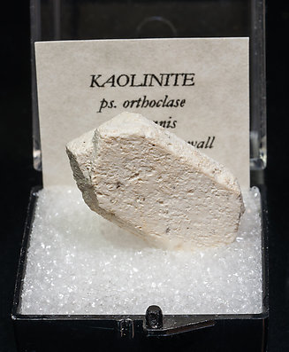 Kaolinite after Orthoclase.