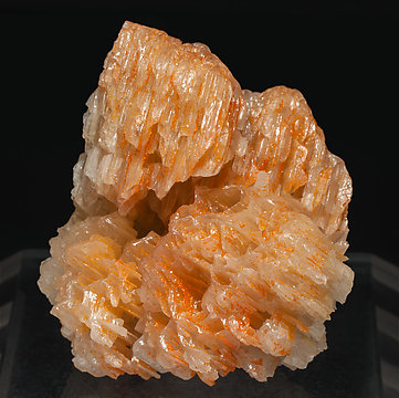 Chromium rich Mimetite with Cerussite. Front