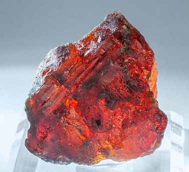 Sphalerite. Light behind