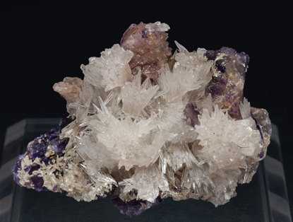 Strontianite with Fluorite.
