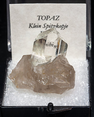 Topaz on Quartz.