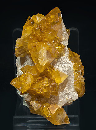 Baryte with Quartz. Front