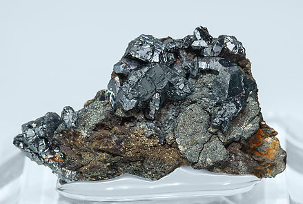 Chalcocite with Pyrite.