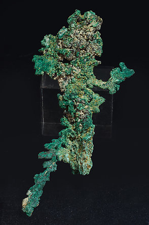 Copper with Malachite. Side