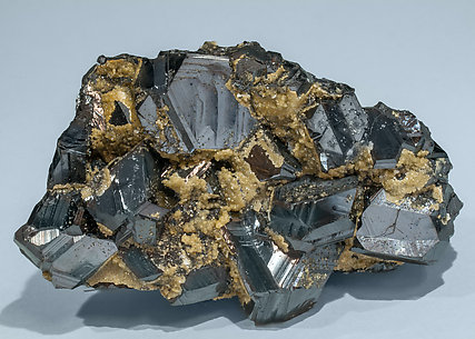 Sphalerite with Siderite. Side