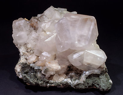Calcite with Chlorite. Side
