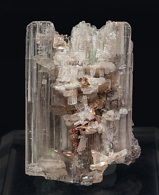 Cerussite with Malachite. Front