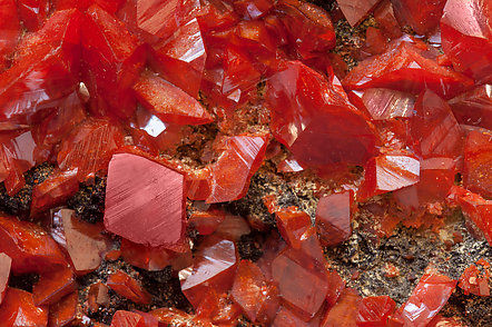 Crocoite with Vauquelinite.