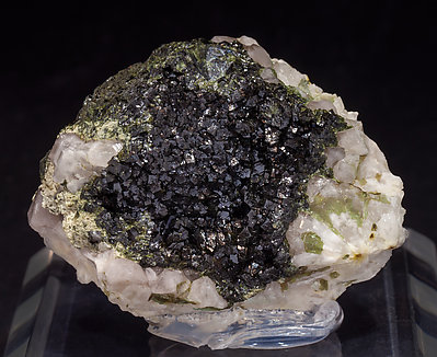 Descloizite with Quartz.
