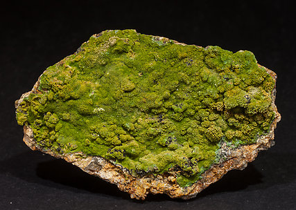 Pyromorphite with Wulfenite.