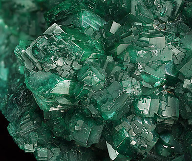Dioptase. Detail / Photo: Joaquim Callén