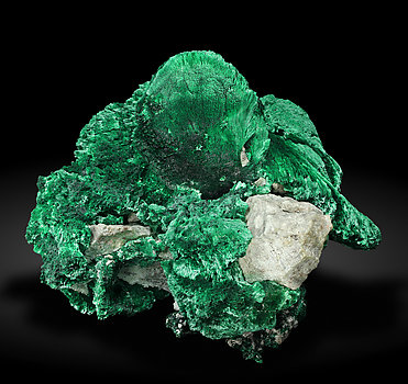 Malachite. Front / Photo: Joaquim Callén