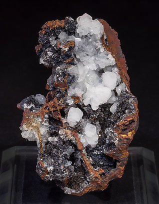Hemimorphite with limonite.
