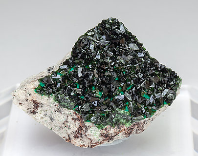 Libethenite with Malachite.