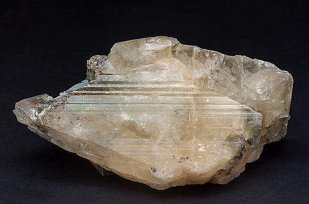 Microcline (variety hyalophane) with Rutile.