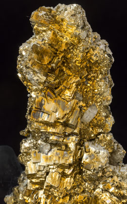 Pyrite. Side