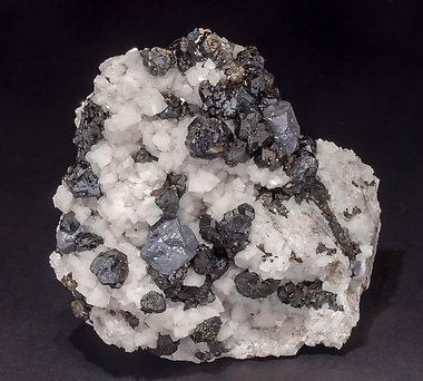 Galena with Sphalerite and Dolomite.