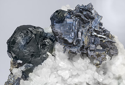 Galena with Sphalerite, Quartz and Fluorite.