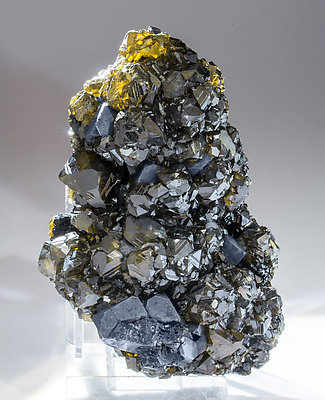 Sphalerite with Galena. Light behind