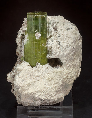 Elbaite with Mica 'lepidolite'. Front