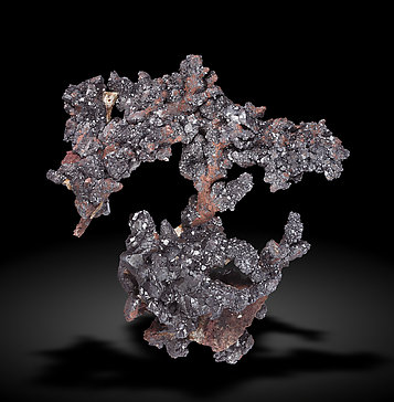 Cuprite with Copper. Front / Photo: Joaquim Callén