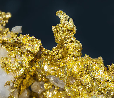 Gold (spinel twin).