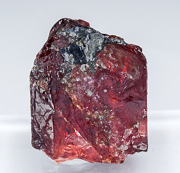 Rhodonite with Galena. Front