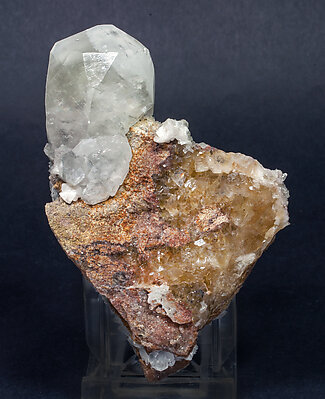 Calcite with Fluorite and Dolomite.