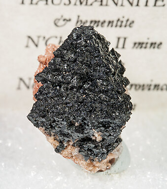 Hausmannite with Bementite.
