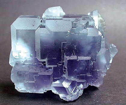 Fluorite. Fluorescent light (day light)