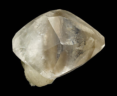 Doubly terminated Calcite with inclusions.