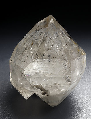 Doubly terminated Quartz with inclusions.